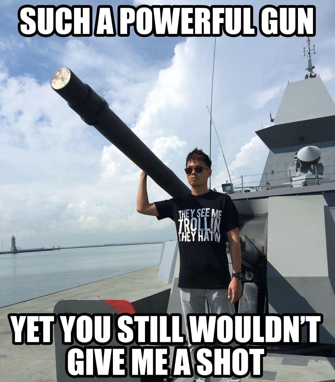 Just a heartbroken Singaporean dude and his super EMO SHIP