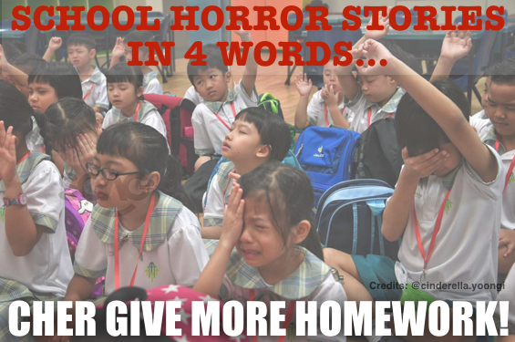 What's your own HORROR STORIES in school?