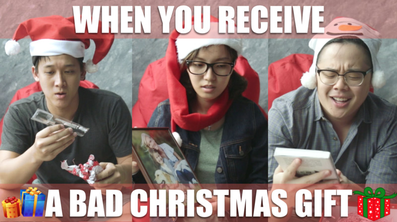 When you receive a bad Christmas gift...